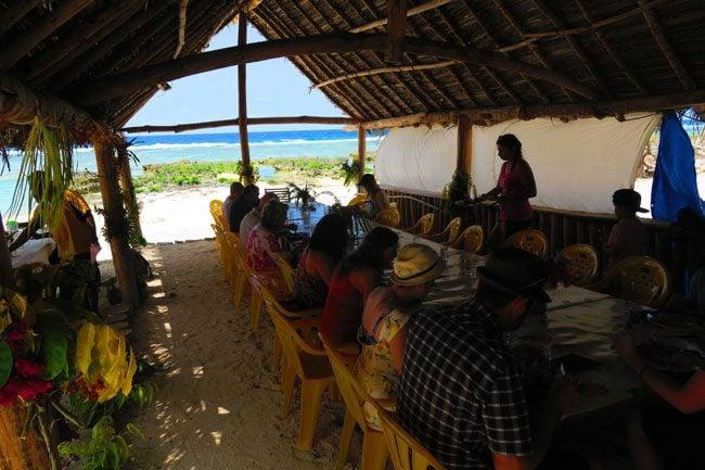 Taka Village lunch