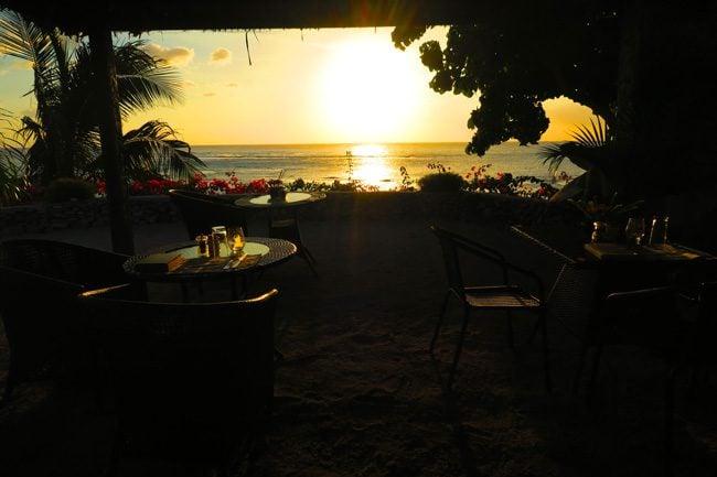 Tanna Evergreen Resort sunset