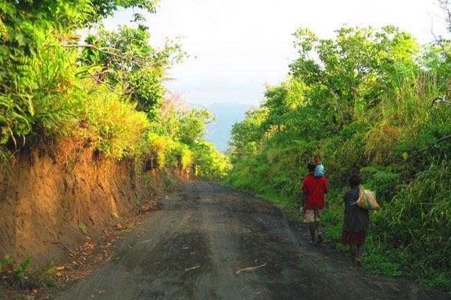 Tanna Island Vanuatu Drive to Mount Yasur