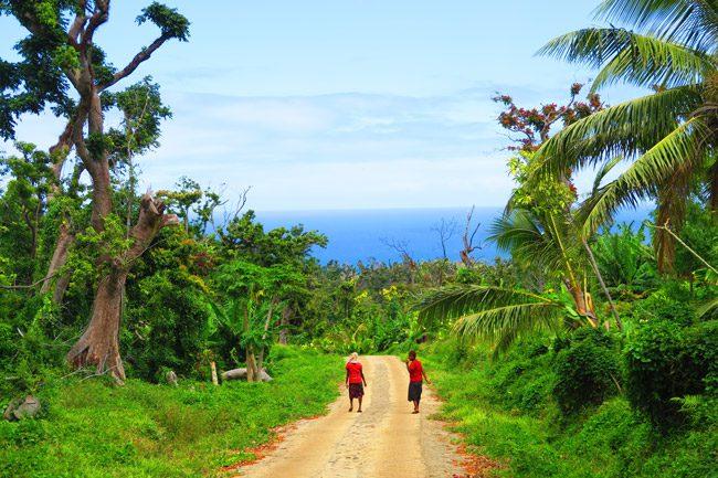 Tanna Island Vanuatu remote villagers