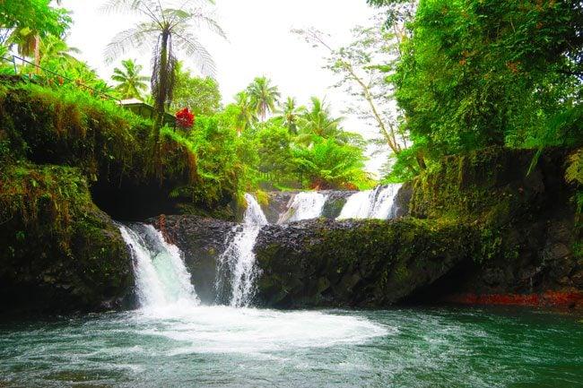 Togitogiga Waterfall Samoa