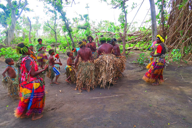 Traditional Tribal Dance Magic Tour Tanna Island