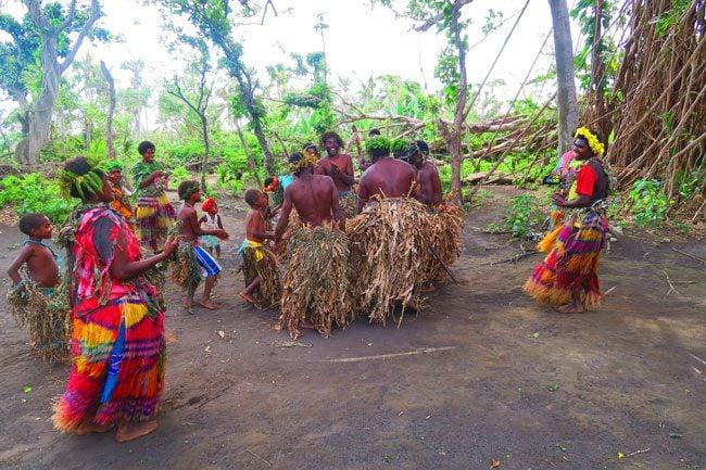 Traditional Tribal Dance Magic Tour Tanna Island