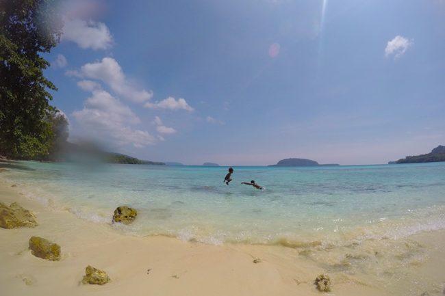 Tropical Beach Vanuatu South Pacific Lonnoc