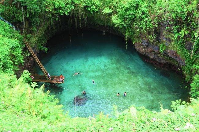 Tu Sua Ocean Trench Samoa