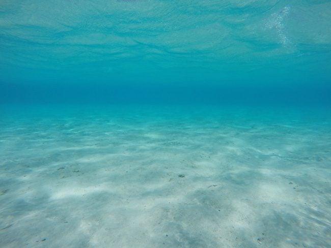 Aitutaki lagoon colors Cook Islands