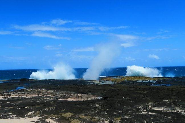 Alofaaga Blowholes Savaii Samoa