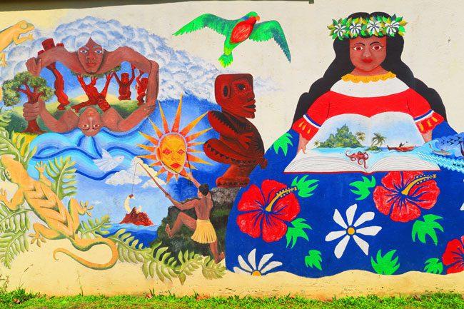 Art in Rarotonga Cook Islands