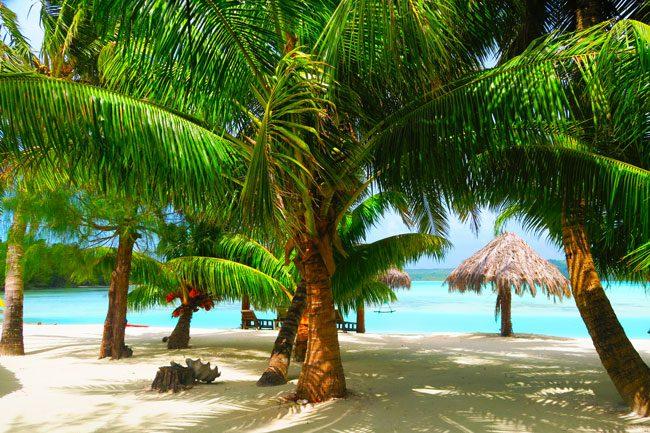 Inano Beach Bungalows Cook Islands Aitutaki