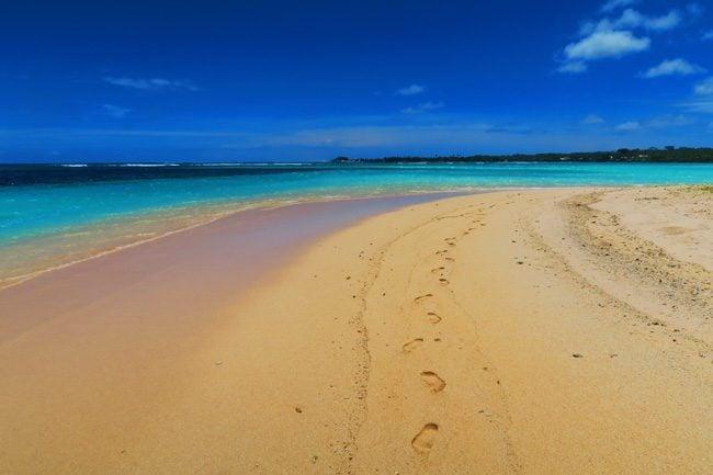 Manase beach savaii samoa