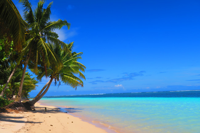 Manase tropical beach savaii samoa