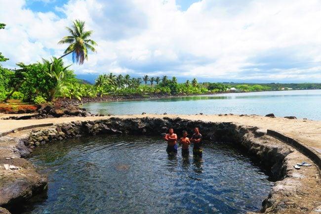Mata o le Alelo Pool Savaii Samoa