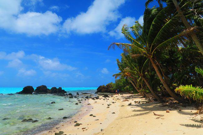 Motu Rakau Aitutaki Cook Islands