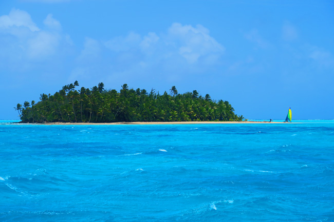 Motu Rakau Aitutaki Lagoon Cook Islands