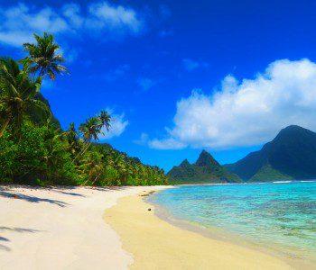 God's Greatest Piece Of Artwork: Ofu Beach In American Samoa