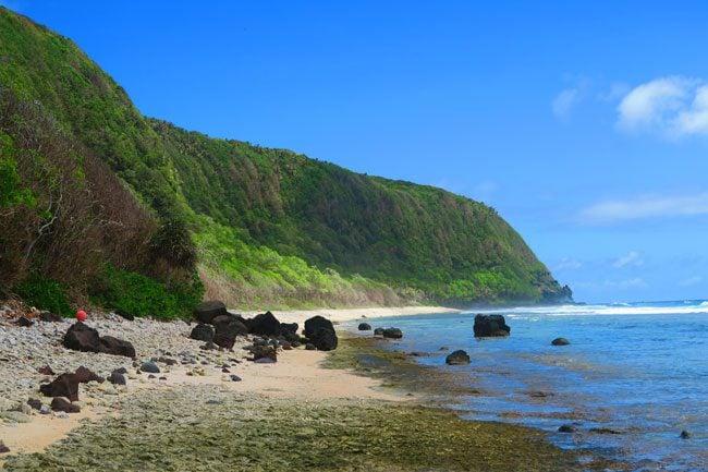 Oge Beach Olosega Island American Samoa