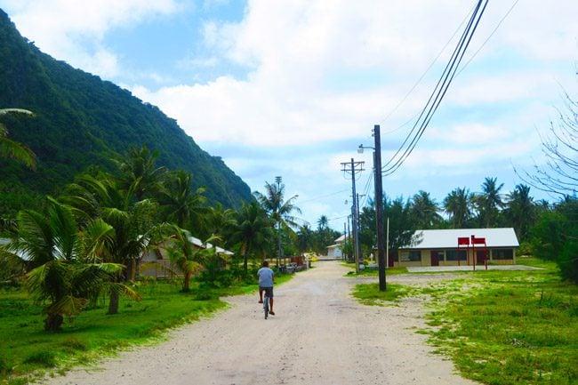 Olosega Village American Samoa