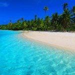 One Foot Island Aitutaki lagoon Cook Islands