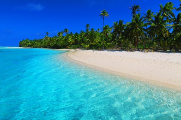 One Foot Island Aitutaki lagoon Cook Islands