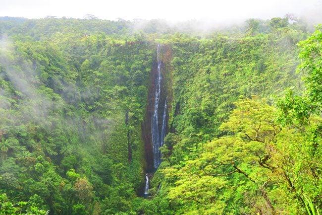 Papapapaitai Waterfal Samoa
