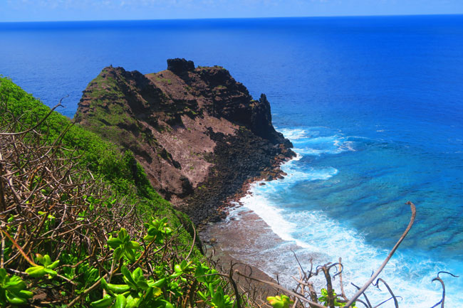 Ricky's Cliffs in Olosega American Samoa