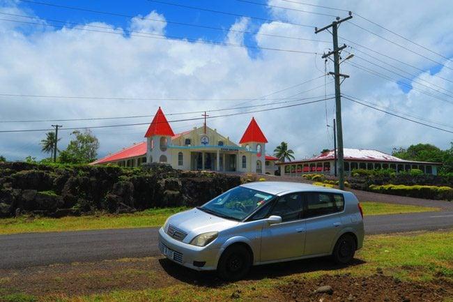 Road trip Savaii Samoa