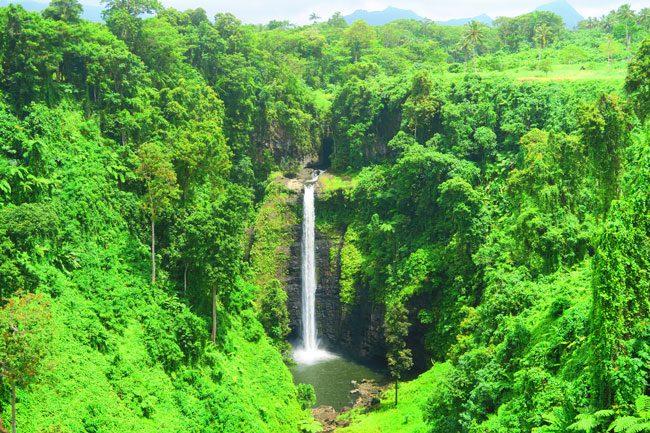 Sopoaga Waterfall Samoa