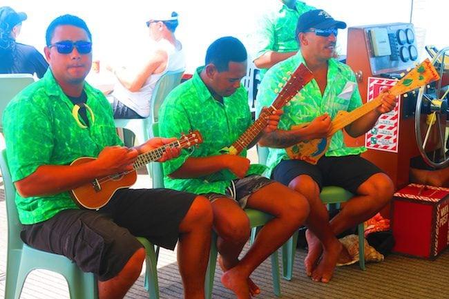 The Vaka Cruise entertainment Aitutaki Cook Islands
