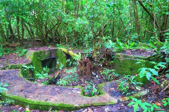 WWII bunker in American Samoa