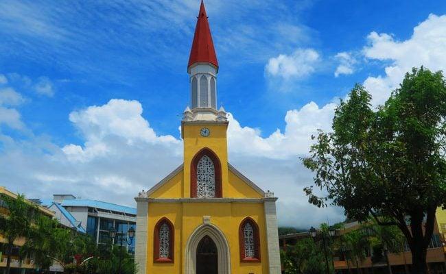 Cathedrale Notre Dame Papeete Tahiti French Polynesia