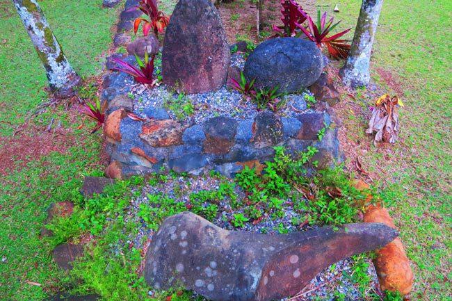 Highland Paradise Rarotonga Cook Islands punishment stones
