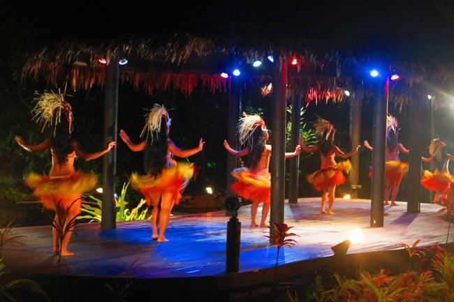 Island Night te vara nui Rarotonga Cook Islands polynesian dance