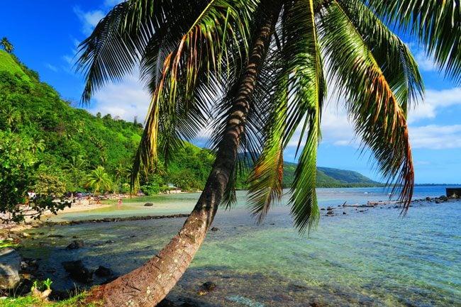 Maui Beach Tahiti Iti Tahiti French Polynesia