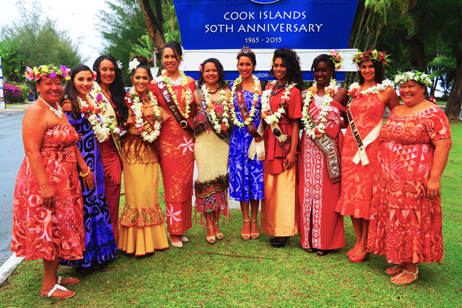 Miss Pacific Beauty Pageant Rarotonga Cook Islands