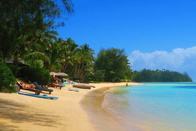 Muri Beach Rarotonga Cook Islands