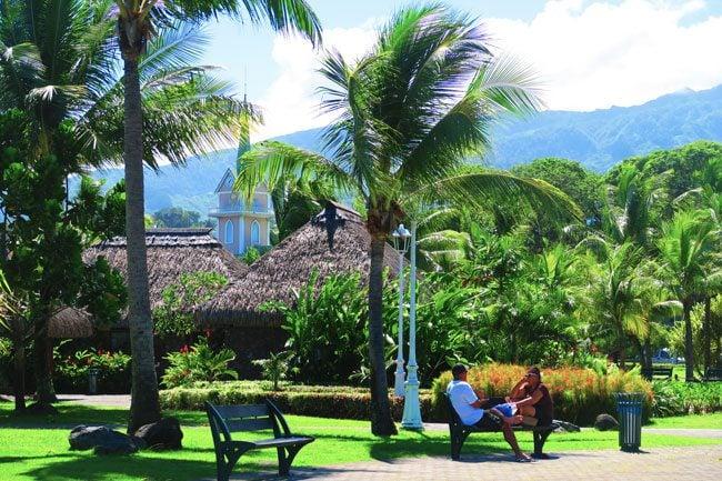 Paofai Gardens Papeete Tahiti French Polynesia