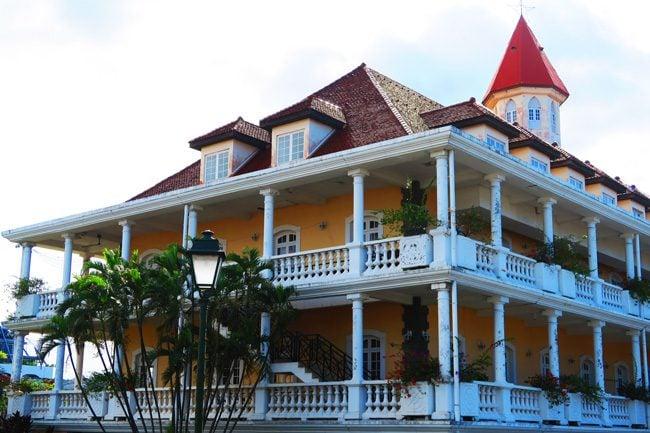 Papeete town hall Tahiti French Polynesia