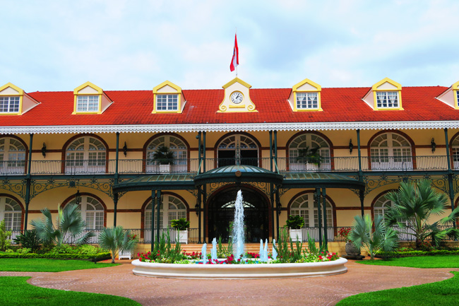 Presidential Palace Papeete Tahiti French Polynesia
