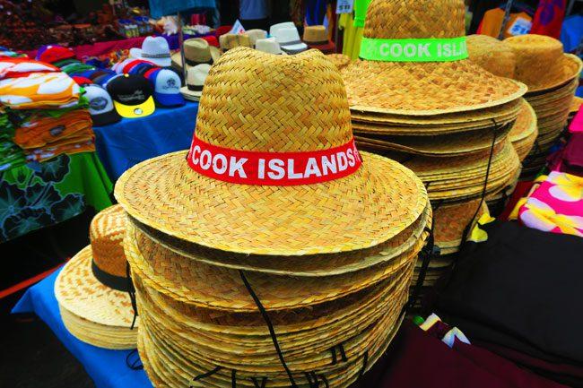 Punanga Nui Market Rarotonga Cook Islands hat