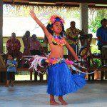 Punanga Nui Market Rarotonga Cook Islands young polynesian dancer