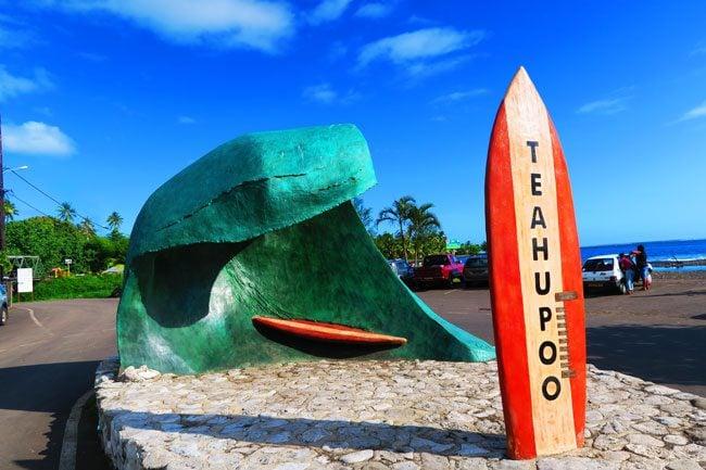 Teahupoo Tahiti French Polynesia