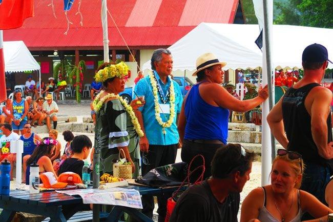 Vaka Eiva Rarotonga Cook Islands happy hour