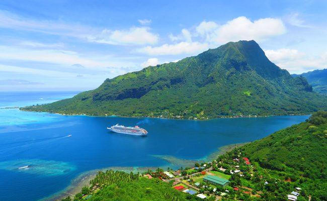 Magical Mountain Moorea French Polynesia Opunohu Bay