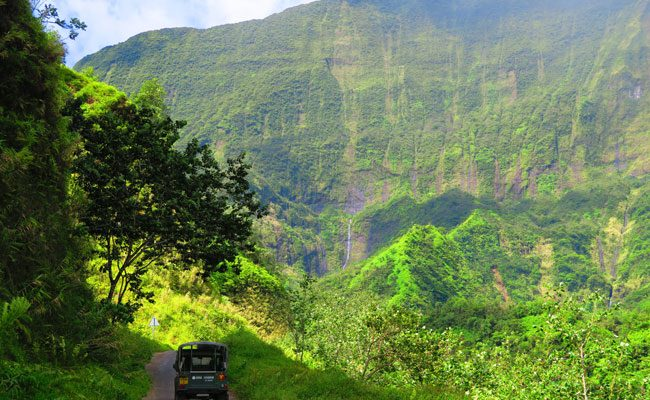 Papenoo Valley Tahiti