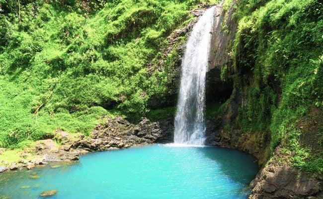 Papenoo Valley Tahiti Maroto Waterfall