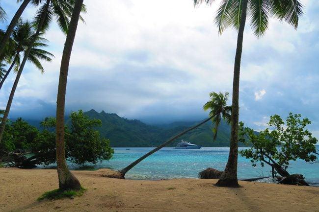 Taahiamanu Mareto Beach Moorea French Polynesia