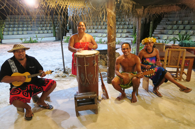 Tiki Village Moorea traditional music