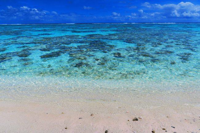 Motu Auira beach Maupiti French Polynesia