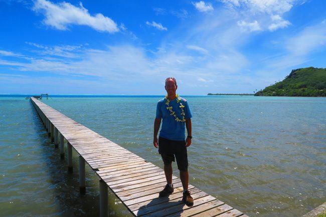 Tiare necklace at Pension Tautiare Village Maupiti french polynesia
