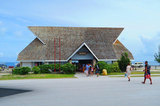 Airport Fakarava Atoll French Polynesia